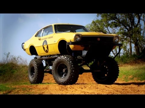 Monster Truck Modification | Top Gear USA | Series 2