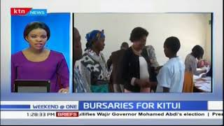 Charity Ngilu launches bursary project in Kitui
