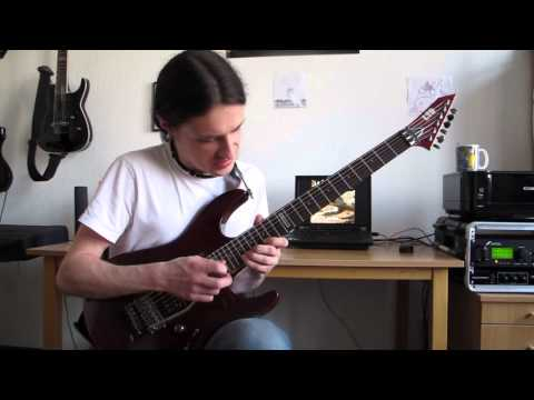 Jason Melidonie: Dream Theater - Lost Not Forgotten - Guitar Solo Cover