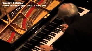 Grigory Sokolov plays Bach French Overture - live video 2011