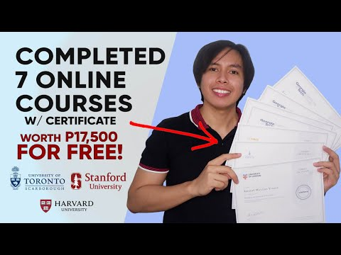 Completed 7 Online Courses with Certification for FREE | by Inyi ...