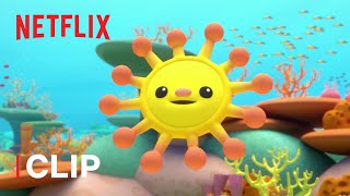 Corey's First Day on the Reef 🐠 Octonauts & the Great Barrier Reef | Netflix Jr