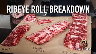 How to Break Down a Ribeye Roll