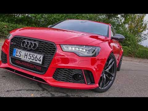 #Hellride: HGP Audi RS6 (C7) Avant (810 PS) - #reddevil in Action - incl. 0-100 km/h & 0-200 km/h