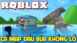Roblox | KIA BIẾN THÀNH CÁ MẬP ĐẦU BÚA SIÊU NGUY HIỂM - SharkBite | KiA Phạm