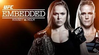 UFC 193 Embedded - Épisode complet en VOSTFR