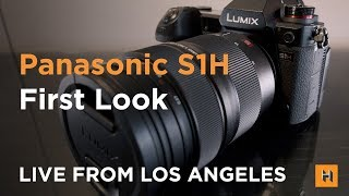 Panasonic LUMIX S1H and NEW LUMIX S PRO 24-70mm F2.8, First Look