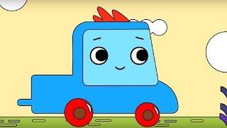 Мультфильм про машинки -  Грузовичок Пик - Раскраска - Ленивый крокодил 2