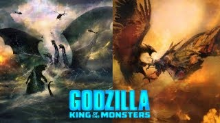 5 Brand New Fight-Action Shots in Godzilla King Of The Monsters