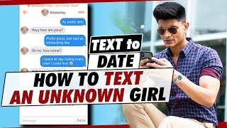 How to TALK to an UNKNOWN GIRL on INSTAGRAM | TEXTING GAME 101 - From NUMBER to DATE in EASY STEPS
