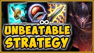 WTF! ATTACK SPEED PANTH CANNOT TAKE DMG FROM AUTOS?? PANTHEON TOP GAMEPLAY!   League Of Legends