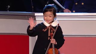 Amazing 5 Year Old Violinist Performs For President Obama