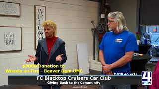 Blacktop Cruisers Giving Back to Community