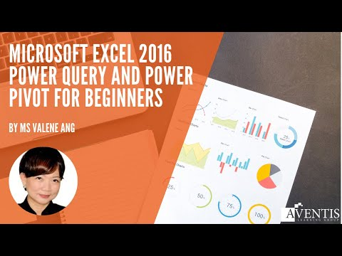 Microsoft Excel 2016 Power Query and Power Pivot for Beginners ...