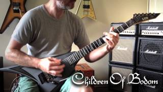Children Of Bodom - Not My Funeral Guitar Cover