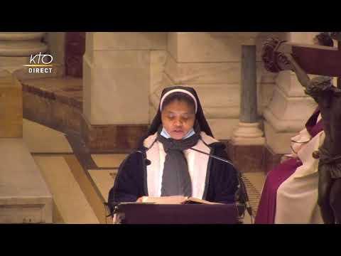 Messe du 3 mars 2021 à Notre-Dame de la Garde