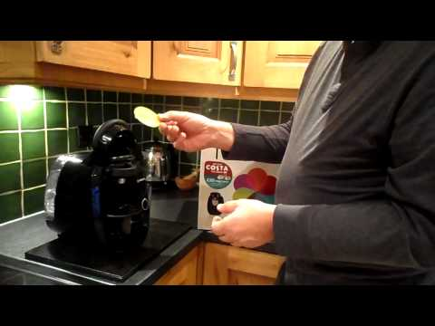 How to use your new Bosch Tassimo and get it ready for the best coffee in the world