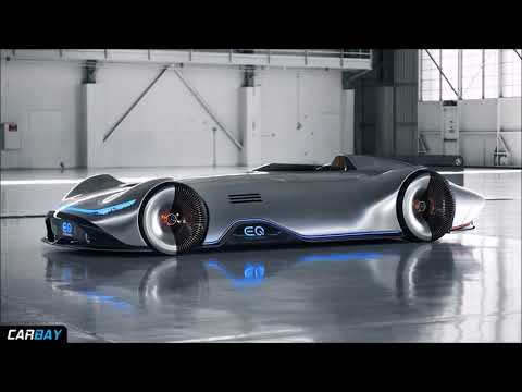 Mercedes Benz EQ Silver Arrow Is A 750 HP Electric Single Seater Throwback