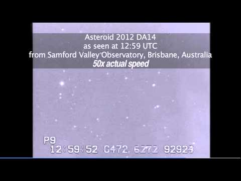 Aussie Observatories Had Front-Row Seats To Asteroid 2012 DA14. Here Are The Videos