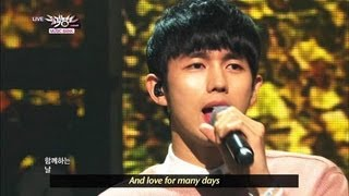 [Music Bank w/ Eng Lyrics] 2AM - One Spring Day (2013.04.06)