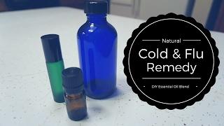 Cold & Flu Fighter | DIY Essential Oil Blend | Semi Crunchy Mama