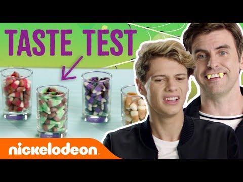 207f8e93 Candy Corn Halloween Taste Test ft. Jace Norman & Cooper Barnes |  #NickStarsIRL