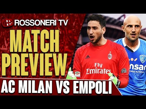 AC Milan vs Empoli   Serie A   PREVIEW
