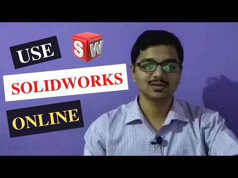 How to use solidworks online | Solidworks tutorial | Free trial