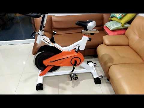 จักรยาน maketec spinning bike จาก lazada