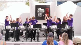 Kiss the Girl- OBU Steel Drum Ensemble-Live from Disney World
