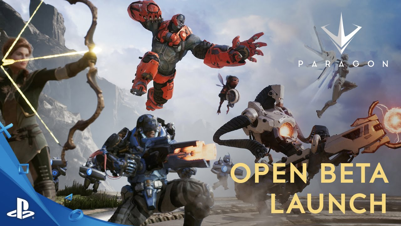 Paragon Open Beta Starts Today, Play for Free
