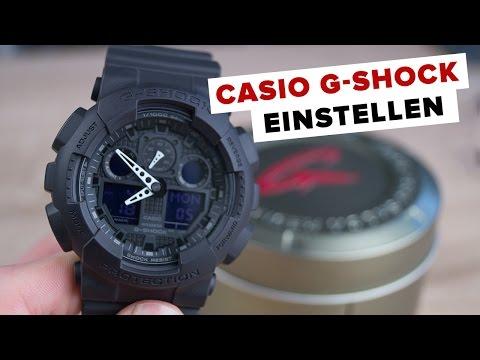 [Deutsch] Casio G-SHOCK EINSTELLEN // Tutorial // FullHD