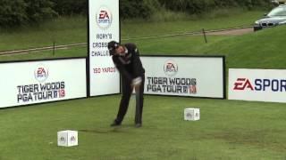 Rory McIlroy Crossbar Challenge | EA Triple A