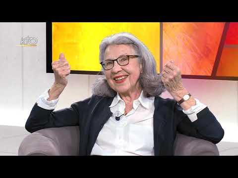 Geneviève Laurencin. Grand-mère catéchète et auteur, elle veille à préserver l'esprit d'enfance