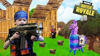 Nerf War : Fortnite Battle Royale In Real Life (FUNNY VIDEOS)