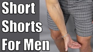 Short Shorts For Men   How To Wear Shorts Properly For Men   Ollie Pearce