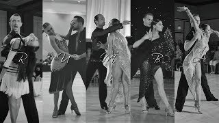 Top 5 Favorite Rumba I How To Dance International Latin I NDCA Dancesport Competitions 2018-2019