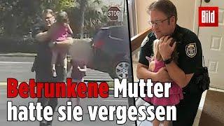 Polizist rettet bewusstloses Mädchen aus Hitze-Auto