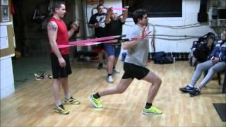 preview picture of video 'Exemples d'entraînement avec élastique. AFGS Pouillon Les Landes.'