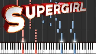 Supergirl - Main Theme | Piano Tutorial