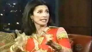 Mimi Rogers interview on late show