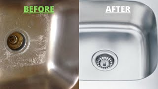 How to Clean Kitchen Sink | Remove Stickiness & Odour | How to Clean Stainless Steel Sink