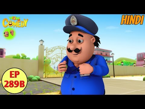 Motu Patlu   Cartoon in Hindi   3D Animated Cartoon Series for Kids   Motu The Watch Man