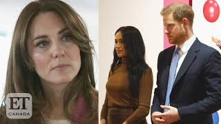 Kate Middleton Slams Report Shes Furious With Harry & Meghan