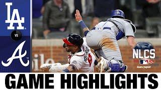 Dodgers vs. Braves NLCS Game 2 Highlights (10/17/21) | MLB Highlights