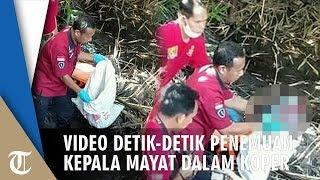 Video Detik-detik Penemuan Kepala Guru yang Dimutilasi Ditemukan di Pinggir Sungai