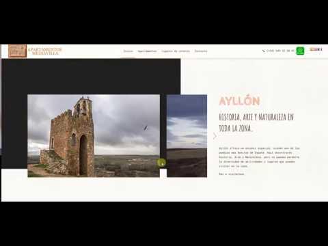 Diseño web apartamentos turísticos Mediavilla