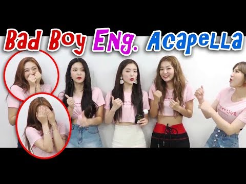 Red Velvet sings Bad Boy English ver. (Acapella) | 레드벨벳