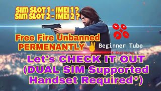 free fire account suspended fix without root - Kênh video giải trí