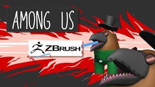 Игра Аmong us. Работа в интернете. Как я стал 3D художником
